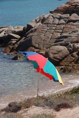 ombrellino in vacanza in sardegna