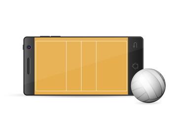 smart phone volleyball
