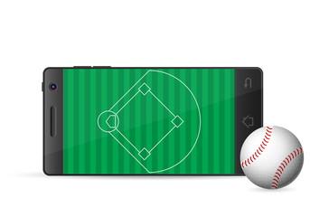 smart phone baseball