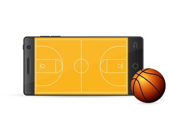 smart phone basketball