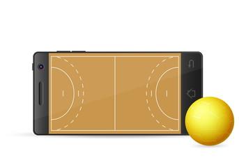 smart phone handball