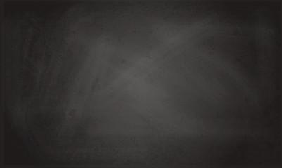 Blank black chalkboard