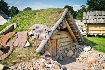 Old slavic hut