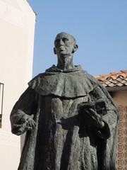 Escultura de San Juan de la Cruz