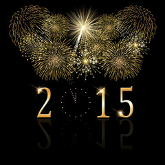 glückliches neues Jahr 2015 © Matthias Buehner