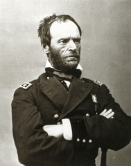 William Tecumseh Sherman, American general (M. Brady, 1865)