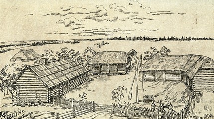Latvian farmstead 17-18 century