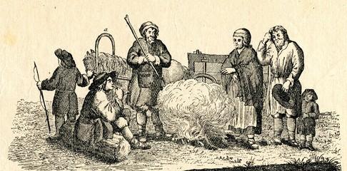 Latvians ca. 1750