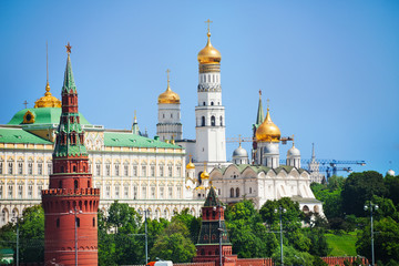 Kremlin view with Cathedral of the Annunciation