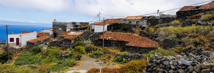 The Arguamul village, La Gomera, Canary Island, Spain