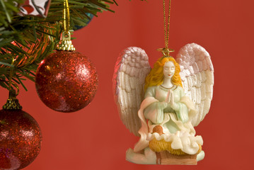 Angel Christmas Tree Ornament