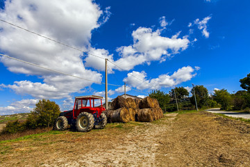 agriculture vehicle