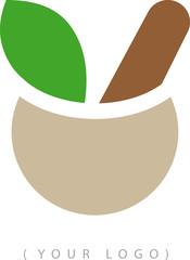 Simbolo cucina naturale erboristeria