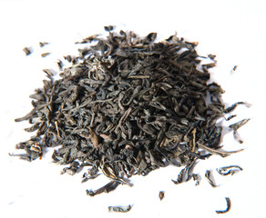 a scattering of tea