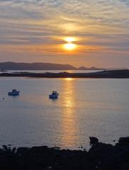 sundown at Pink Granite Coast