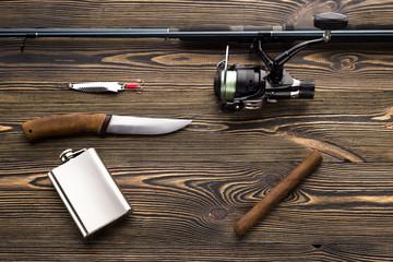 Go fishing, concept