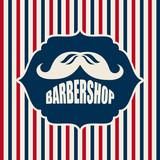 Fototapety barber shop design