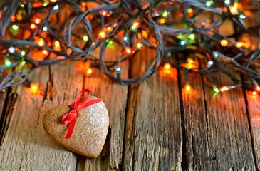 Gingerbread Xmas heart