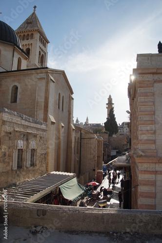 canvas print picture Jerusalem Altstadt
