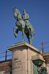 Leopold II statue - king of the Belgians
