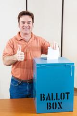 White Male Voter