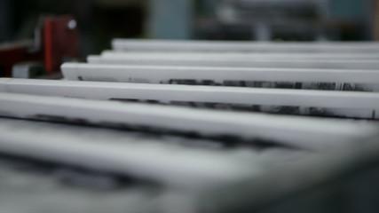 Stream of gazette production