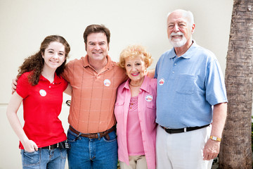 Election Day - Family Votes