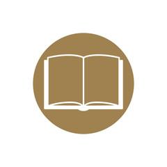 Open book - Vector icon
