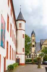 On the territory of Deutschherrenhaus in Koblenz, Germany