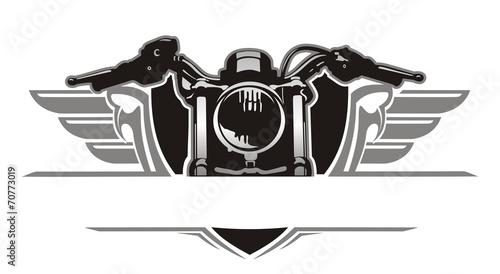 motorcycle wing vintage - 70773019