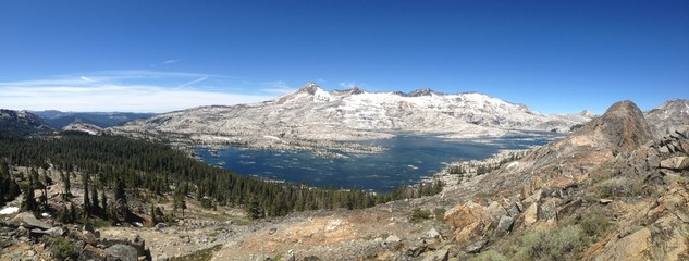 Lake Aloha in Desolation Wilderness