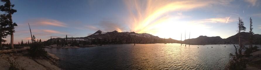 Sunset on Lake Aloha