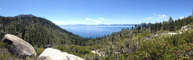 Lake Tahoe from Tunnel Creek Road