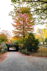 The Riftstone Bridge on 72nd St, over the bridle path at Central
