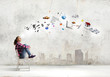 canvas print picture - Education concept