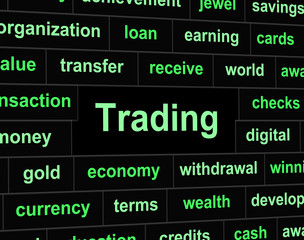Trade Trading Represents Commerce Commercial And Export