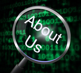 About Us Indicates Magnify Magnification And Research