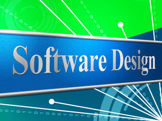 Software Design Means Designed Concept And Programming