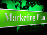 Plan Marketing Shows Scenario Advertising And Proposition poster