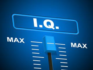 Intelligence Iq Indicates Brain Power And Acumen