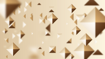 Abstract Brown Square Background