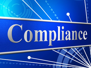 Compliance Agreement Shows Complied Guidelines And Process