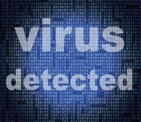 Virus Detected Represents Trojan Antiviral And Threat