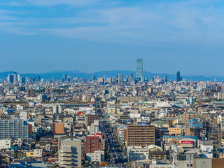 Osaka city view, Japan