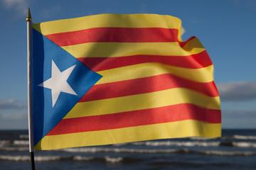 Catalan flag.