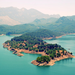 mountain lake in Turkey