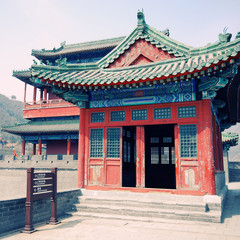 chinese pagoda on Great Wall(China)
