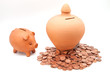 huchas para ahorrar monedas