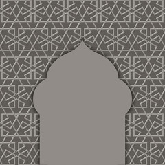 textured background with a mosque