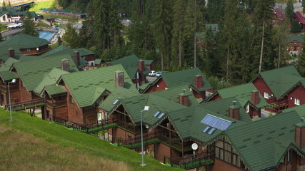 Hotel in the ukrainian mountain resort of Bukovel